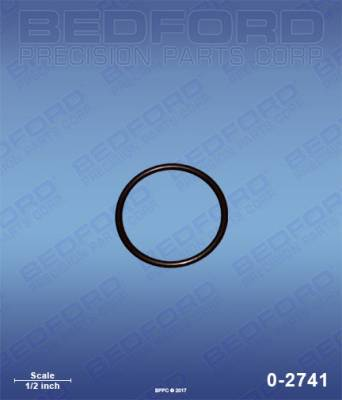 Graco - ST Max 495 - Bedford - BEDFORD - O-RING - 0-2741, REPLACES GRA-103413