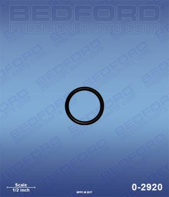 Graco - LTS 17 - Bedford - BEDFORD - O-RING - 0-2920, REPLACES GRA-115719