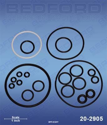 Fusion Guns & Parts - Repair Parts - Bedford - BEDFORD - O-RING KIT - AP GUN - 20-2905, REPLACES GRA-246355