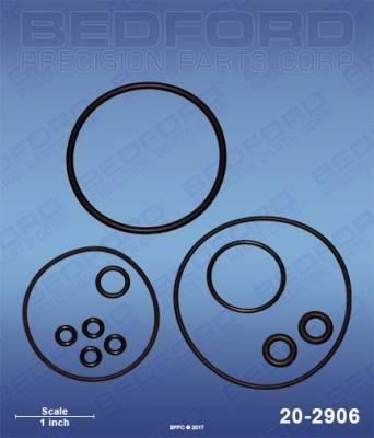 Fusion Guns & Parts - Repair Parts - Bedford - BEDFORD - O-RING KIT - MP GUN - 20-2906, REPLACES GRA-248000