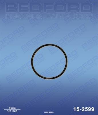 Graco - 390 Classic - Bedford - BEDFORD - O-RING, ENCAPSULATED, OUTLET FILTER - 15-2599, REPLACES GRA-117828