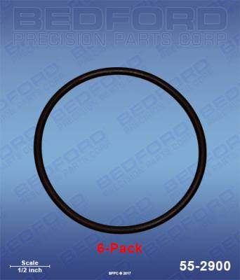 Fusion Guns - Repair Parts - Bedford - BEDFORD - O-RINGS, SOLVENT RESISTANT (6-PACK) - 55-2900, REPLACES GRA-248135