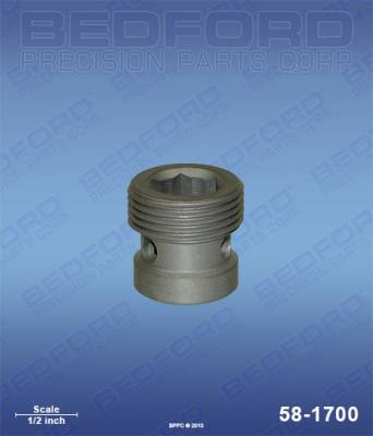 Wagner - 3500 (Diaphragm series) - Bedford - BEDFORD - OUTLET VALVE SEAT (WAS 10775) - 58-1700