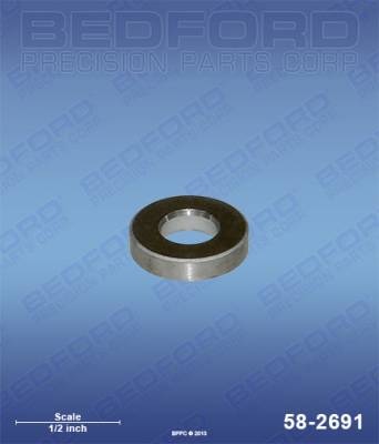 BEDFORD - OUTLET VALVE SEAT - 58-2691, REPLACES TSW-704-558