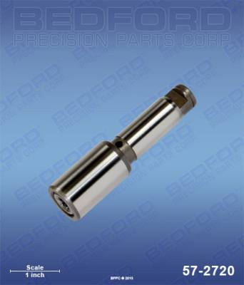 Titan - RentSpray 450 - Bedford - BEDFORD - PISTON ROD ASSEMBLY - EPIC PUMPS - 57-2720, REPLACES TSW-704-560