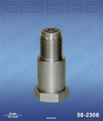 Graco - 15:1 Monark - Bedford - BEDFORD - PISTON VALVE (SS) - 30:1 PRESIDENT, GH433 - 58-2306, REPLACES GRA-223565