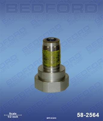 Graco - Zip-Spray 3100 Plus - Bedford - BEDFORD - PISTON VALVE - GMAX 3900, ULTRAMAX 795/1095 - 58-2564