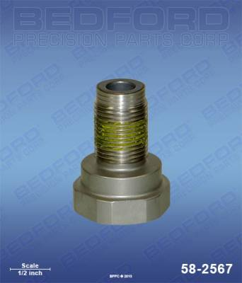 Graco - GMax 5900 - Bedford - BEDFORD - PISTON VALVE - GMAX 5900/10000, MARK IV - 58-2567, REPLACES GRA-240150