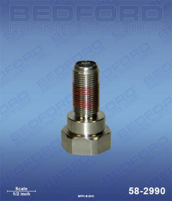Graco - Ultimate 695 - Bedford - BEDFORD - PISTON VALVE ASSY - ULTRAMAX 695, 190ES - 58-2990, REPLACES GRA-239937