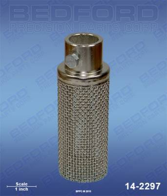 "Titan - PowrLiner 2800 - Bedford - BEDFORD - ROCK CATCHER ASSEMBLY - 1"" OD TUBE - 14-2297, REPLACES TSW-103-625"
