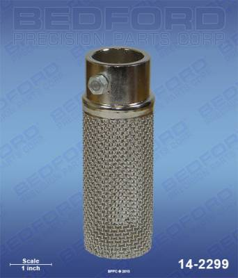 "Titan - HydraPro Super - Bedford - BEDFORD - ROCK CATCHER ASSEMBLY - 1-1/4"" OD TUBE - 14-2299, REPLACES TSW-103-627"