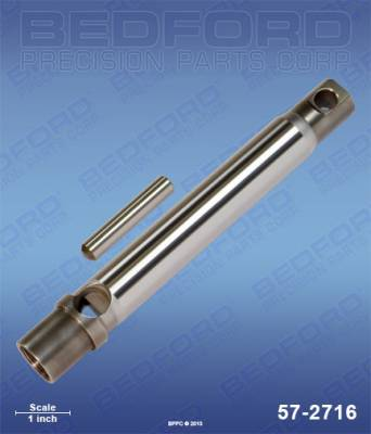 Graco - GH 200 - Bedford - BEDFORD - ROD - GMAX 7900, GH 200, LL II/III/IV 200 - 57-2716, REPLACES GRA-240919