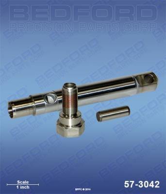 Graco - ST Max II 495 - Bedford - BEDFORD - ROD, VALVE, PIN - 190ES, 390, ULTRA 695, ULTRAMAX 695 - 57-3042, REPLACES GRA-249125