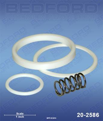 Titan - PowrLiner 6000 - Bedford - BEDFORD - SERVICE KIT - 930 SERIES OUTLET MANIFOLD FILTER - 20-2586, REPLACES TSW-930-050