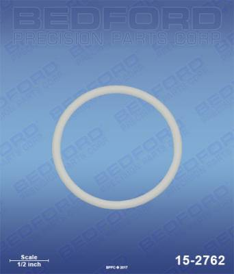 Titan - Impact 540 - Bedford - BEDFORD - TEFLON O-RING - 15-2762, REPLACES TSW-704-297