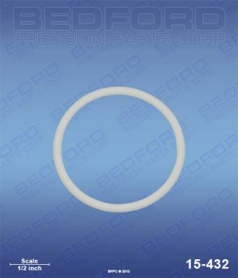 Graco - 10:1 Monark - Bedford - BEDFORD - TEFLON O-RING - 15-432, REPLACES GRA-104361