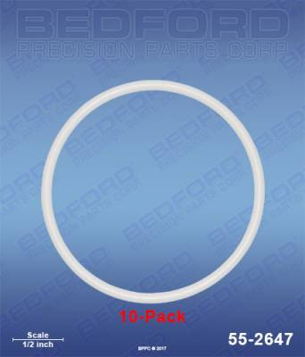 Graco - Xtreme 145cc (600) - Bedford - BEDFORD - TEFLON O-RINGS (10-PACK) - 55-2647, REPLACES GRA-244892
