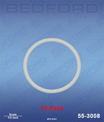Graco - Xtreme 290cc (1200) - Bedford - BEDFORD - TEFLON O-RINGS (10-PACK) - 55-3008, REPLACES GRA-262484
